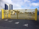 NK Bifolding Speed Gate - Dublin Port