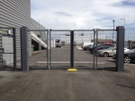 NK Bi-folding Speed Gate - Audi North Dublin